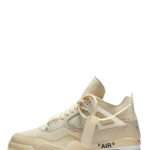 "Jordan 4 Retro x Off-White ""Sail"""