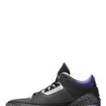 "Jordan 3 Retro ""Black Court Purple"""